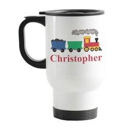 Trains Stainless Steel Travel Mug with Handle