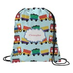 Trains Drawstring Backpack (Personalized)
