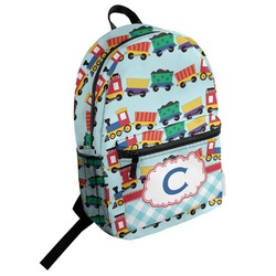 Trains Student Backpack (Personalized)