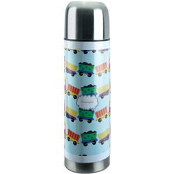 Trains Stainless Steel Thermos (Personalized)