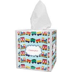 Trains Tissue Box Cover (Personalized)