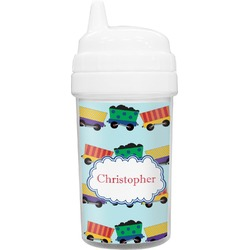 Trains Toddler Sippy Cup (Personalized)