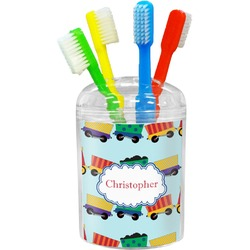 Trains Toothbrush Holder (Personalized)