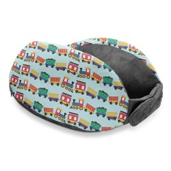 Trains Travel Neck Pillow (Personalized)