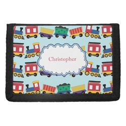 Trains Trifold Wallet (Personalized)