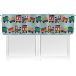 Trains Valance (Personalized)