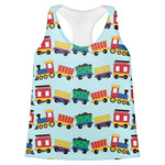 Trains Womens Racerback Tank Top (Personalized)