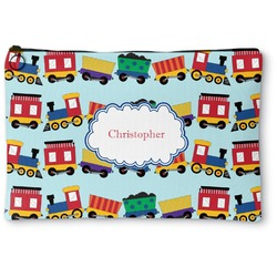 Trains Zipper Pouch (Personalized)