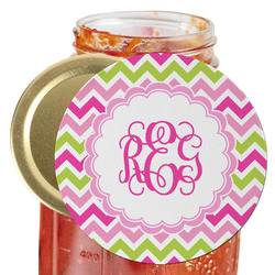 Pink & Green Chevron Jar Opener (Personalized)