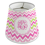 Pink & Green Chevron Empire Lamp Shade (Personalized)