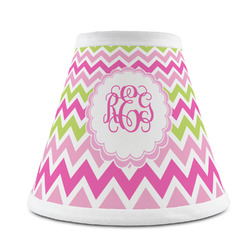 Pink & Green Chevron Chandelier Lamp Shade (Personalized)