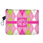 Pink & Green Argyle Golf Accessories Bag (Personalized)