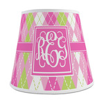 Pink & Green Argyle Empire Lamp Shade (Personalized)