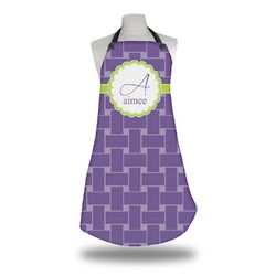 Waffle Weave Apron w/ Name and Initial