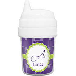 Waffle Weave Baby Sippy Cup (Personalized)