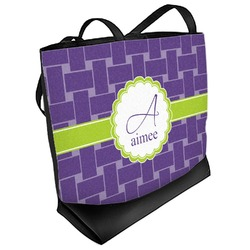 Waffle Weave Beach Tote Bag (Personalized)