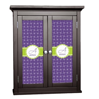 Waffle Weave Cabinet Decal - Custom Size (Personalized)