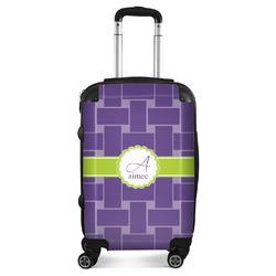 Waffle Weave Suitcase (Personalized)
