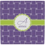 Waffle Weave Ceramic Tile Hot Pad (Personalized)