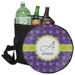 Waffle Weave Collapsible Cooler & Seat (Personalized)