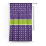 Waffle Weave Curtain (Personalized)