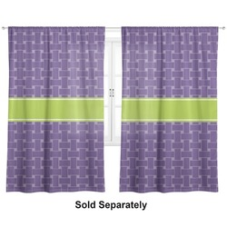 """Waffle Weave Curtains - 40""""x54"""" Panels - Lined (2 Panels Per Set) (Personalized)"""
