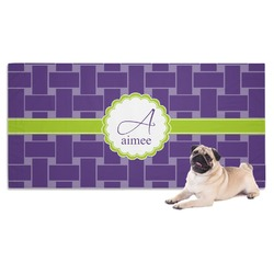 Waffle Weave Pet Towel (Personalized)