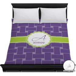 Waffle Weave Duvet Cover (Personalized)