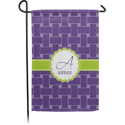 Waffle Weave Garden Flag - Single or Double Sided (Personalized)
