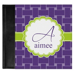 Waffle Weave Genuine Leather Baby Memory Book (Personalized)
