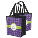 Waffle Weave Grocery Bag (Personalized)