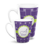 Waffle Weave Latte Mug (Personalized)