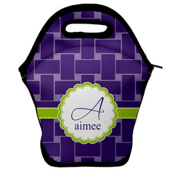 Waffle Weave Lunch Bag (Personalized)