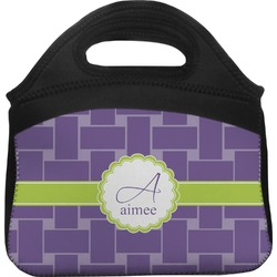 Waffle Weave Lunch Tote (Personalized)