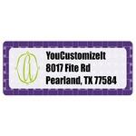Waffle Weave Return Address Labels (Personalized)