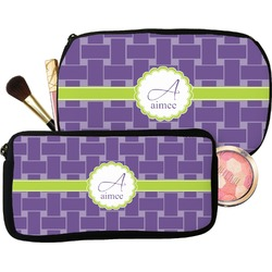 Waffle Weave Makeup / Cosmetic Bag (Personalized)