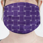 Waffle Weave Face Mask Cover (Personalized)