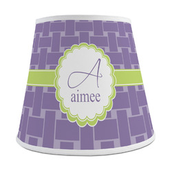 Waffle Weave Empire Lamp Shade (Personalized)