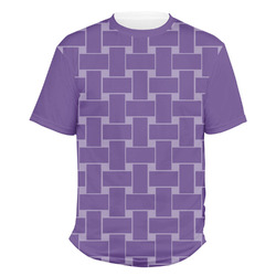 Waffle Weave Men's Crew T-Shirt (Personalized)