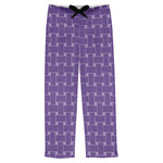 Waffle Weave Mens Pajama Pants (Personalized)