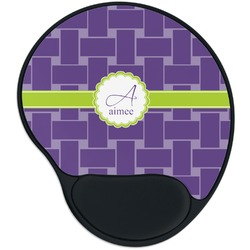 Waffle Weave Mouse Pad with Wrist Support