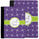 Waffle Weave Notebook Padfolio w/ Name and Initial