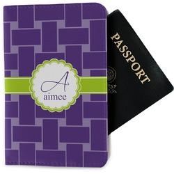 Waffle Weave Passport Holder - Fabric (Personalized)