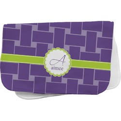 Waffle Weave Burp Cloth (Personalized)