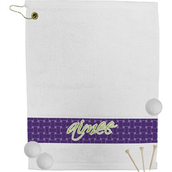 Waffle Weave Golf Towel (Personalized)