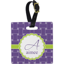 Waffle Weave Luggage Tags (Personalized)