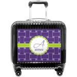 Waffle Weave Pilot / Flight Suitcase (Personalized)