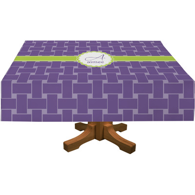 """Waffle Weave Tablecloth - 58""""x58"""" (Personalized)"""