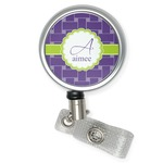 Waffle Weave Retractable Badge Reel (Personalized)