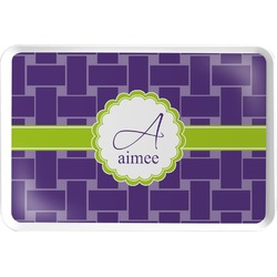 Waffle Weave Serving Tray (Personalized)
